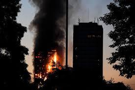 Londres: six morts, une cinquantaine de blessés et plusieurs disparus, bilan provisoire de l'incendie d'une tour d'habitation