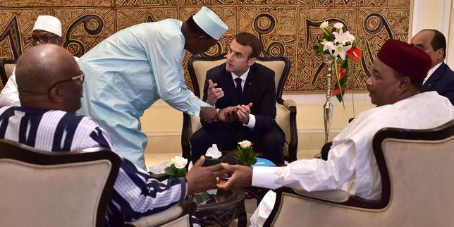 G5 SAHEL : Macron donne peu, exige des résultats et tance les chefs d'Etat