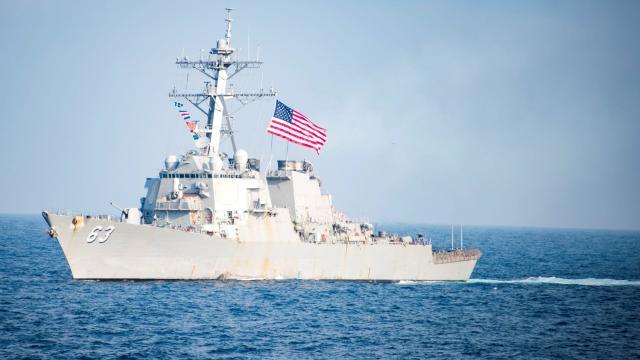 Mer de Chine méridionale: un navire américain passe près d'une île contrôlée par Pékin