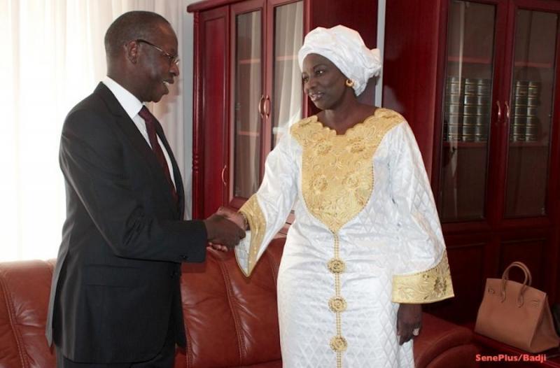 Mahammed Dionne et Aminata Touré