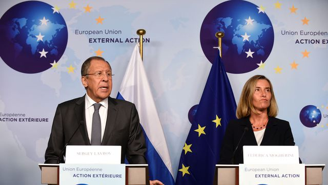 "L'UE juge ""essentiel"" de coopérer avec Moscou"
