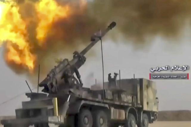 Syrie: le groupe EI reprend le contrôle total de la ville de Boukamal