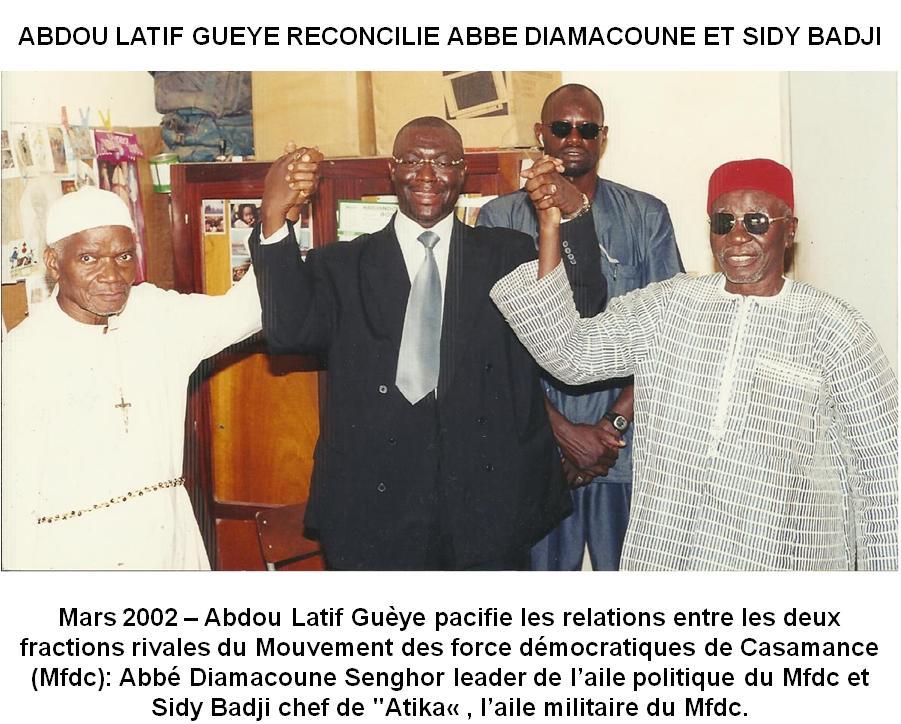 CRISE CASAMANÇAISE: Le RDS exhorte le président Macky Sall à la vigilance, face l'activisme sulfureux des «Monsieur-Casamance» !