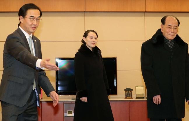 Le président sud-coréen et la soeur de Kim assistent à un concert à Séoul