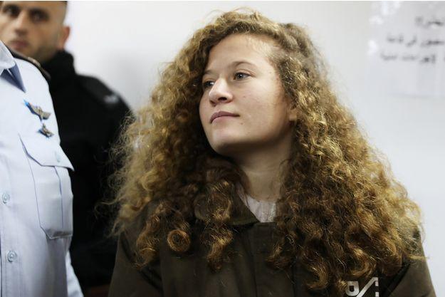 Israël: une adolescente, devenue une icône palestinienne, jugée à huis clos