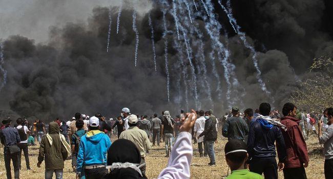 Heurts à la frontière Gaza-Israël, cinq Palestiniens tués
