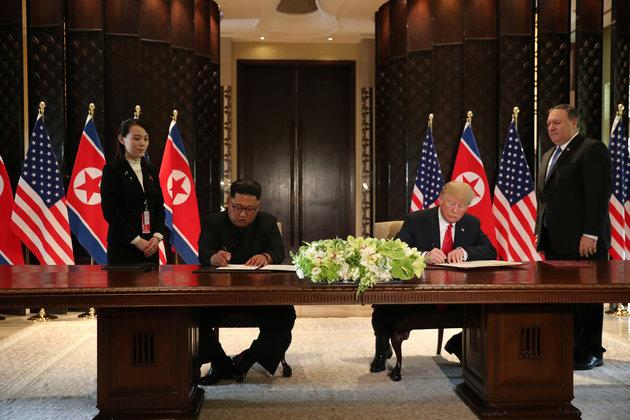 """Pour la Corée du Sud, l'accord de Singapour met """"fin à la Guerre froide"""""""