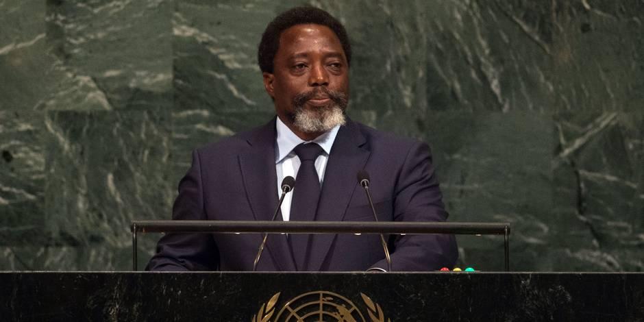 Kabila ne briguera pas un troisième mandat en RDC