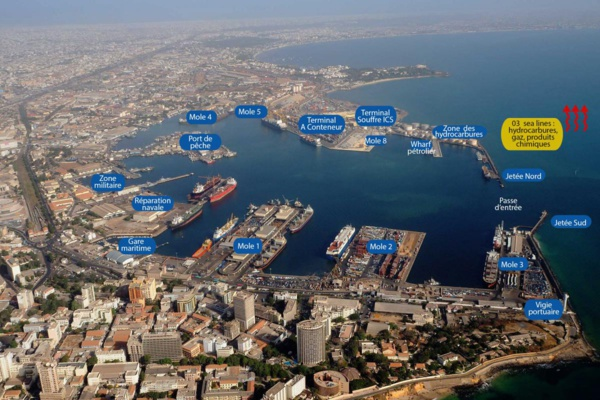 Image virtuelle du Port de Bargny-Sendou