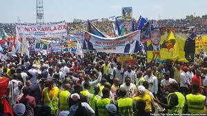 RDC: atmosphère de campagne électorale en marge du meeting des pro-Kabila à Kinshasa