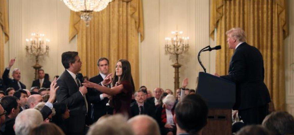 Nouvelle violente passe d'armes entre Trump et la presse