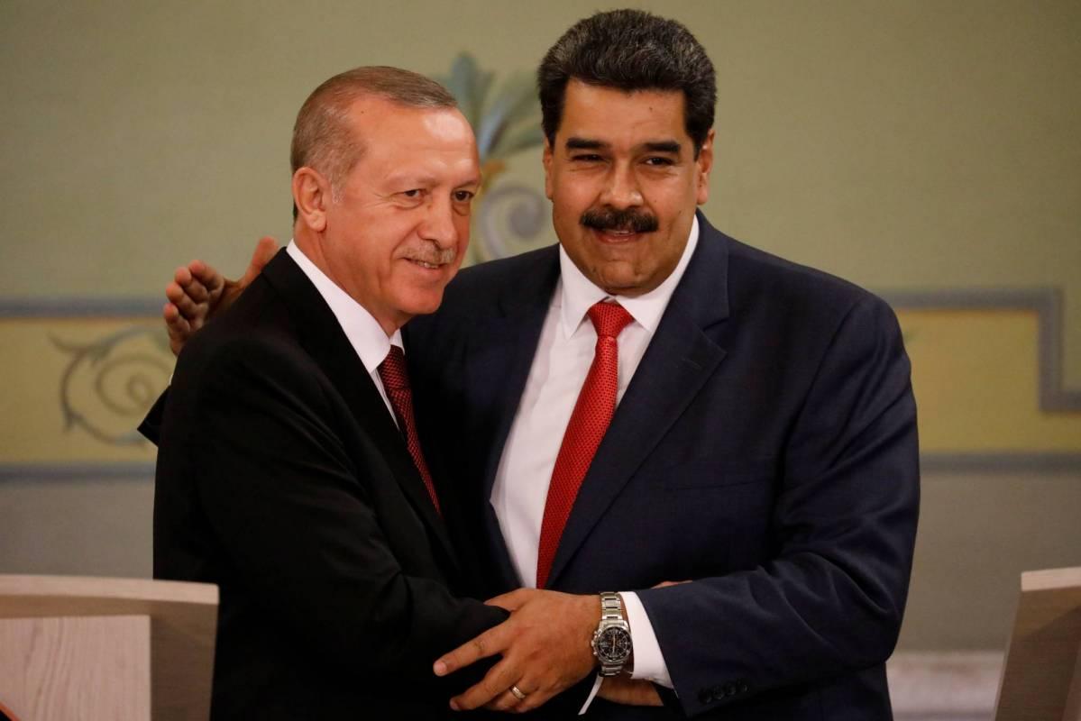Venezuela : Erdogan exprime son soutien à Maduro