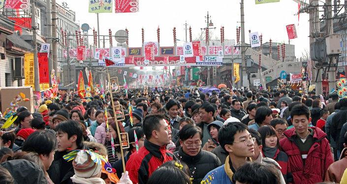 La population chinoise devrait culminer à 1,44 milliard en 2029