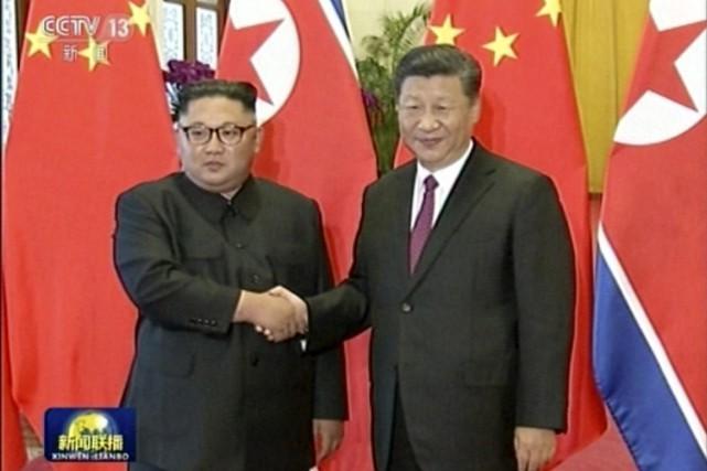 Kim Jong Un en Chine, avant un sommet envisagé avec Trump