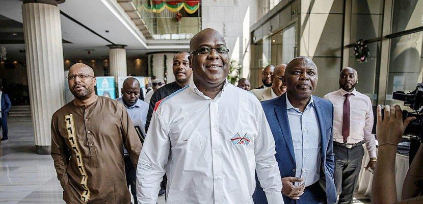 Présidentielle en RDC: l'opposant Tshisekedi, proclamé vainqueur, rend hommage à Kabila