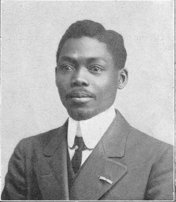 Blaise Diagne, en charge du recrutement des tirailleurs africains