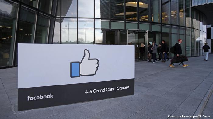 Le siège européen de Facebook à Dublin