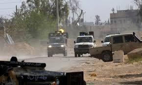 Les forces d'Haftar légèrement repoussées au sud de Tripoli