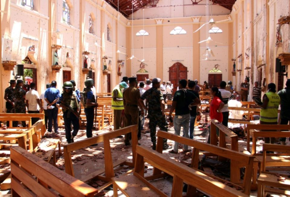 Le Sri Lanka frappé par des attentats suicides, 290 tués