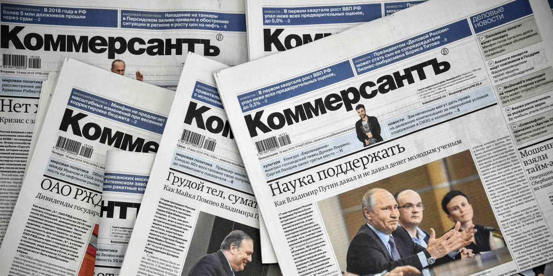 Démission de journalistes russes après le limogeage de collègues