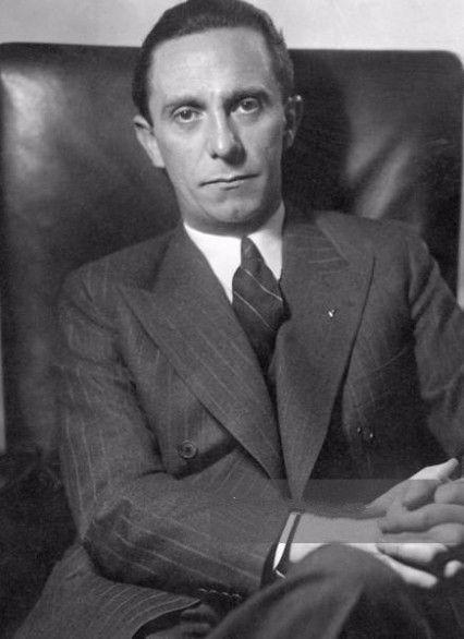 Goebbels sera candidat aux élections européennes
