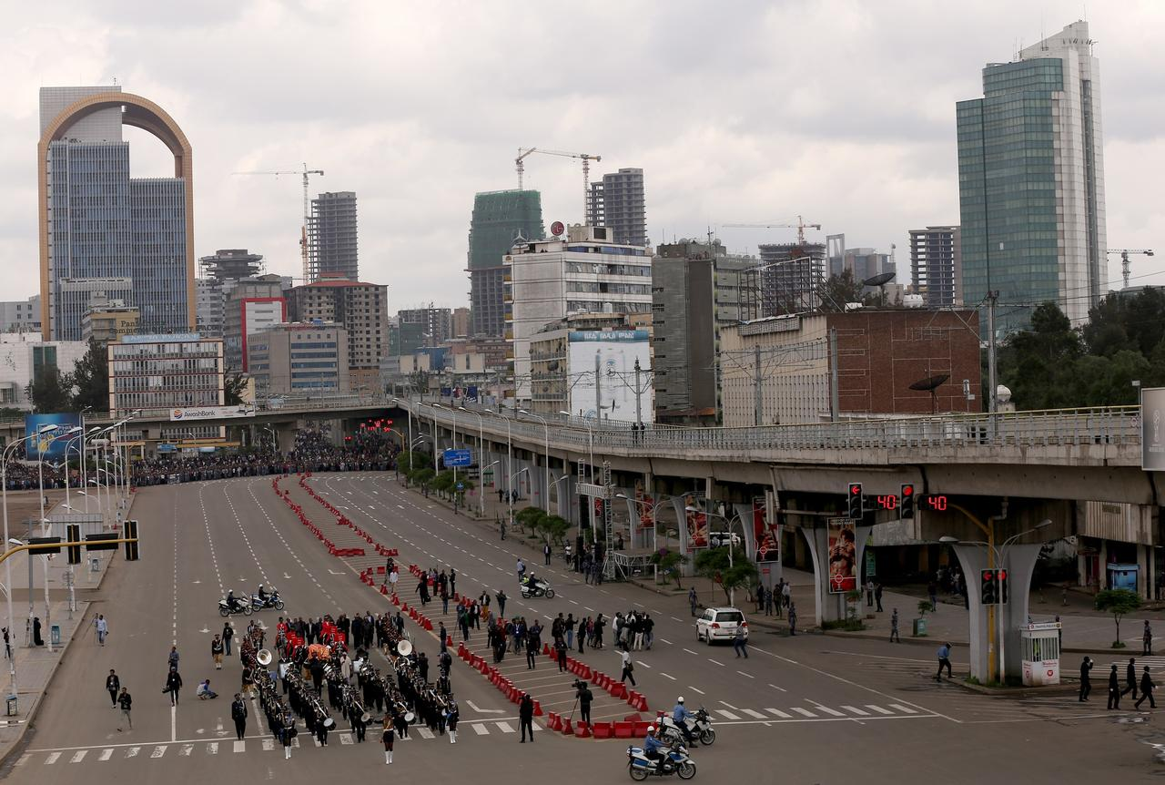 Addis Abeba, la capitale de l'Ethiopie