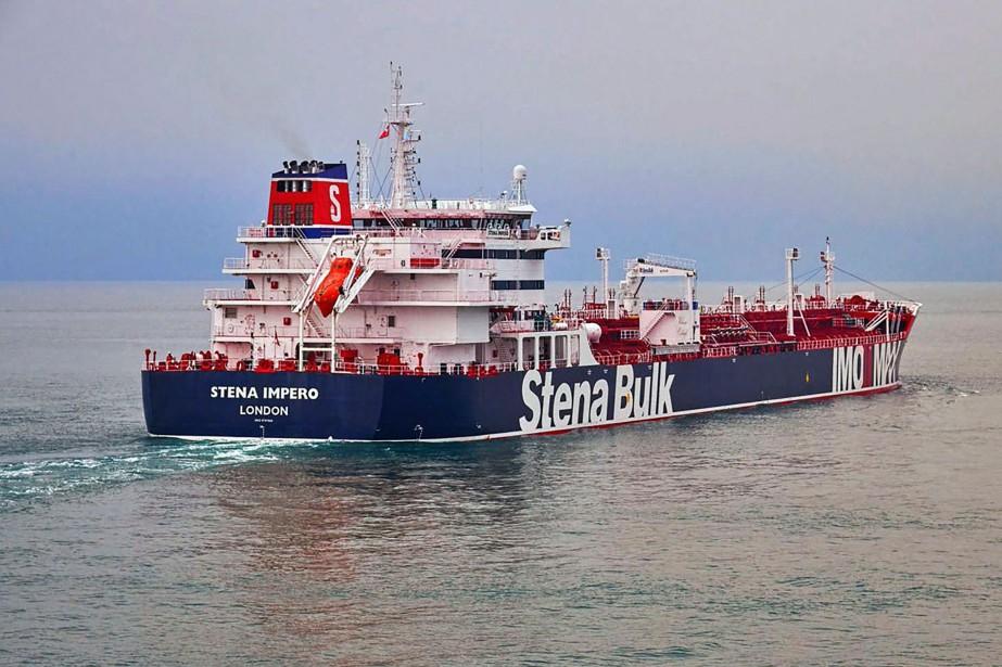 Le pétrolier britannique saisi par l'Iran dans le Golfe