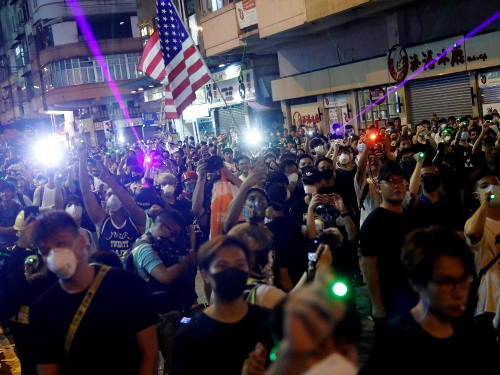 Les USA inquiets de mouvements chinois à la lisière de Hong Kong