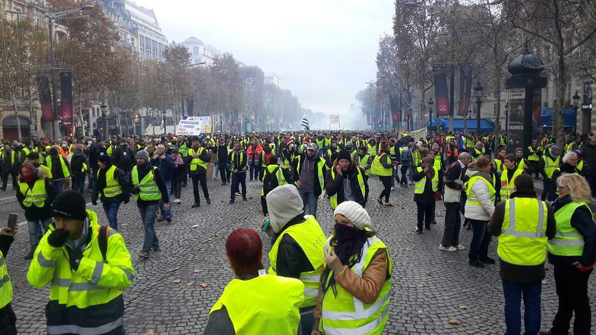 """Nouvelle journée de mobilisation des """"Gilets jaunes"""", pas d'incidents notables"""