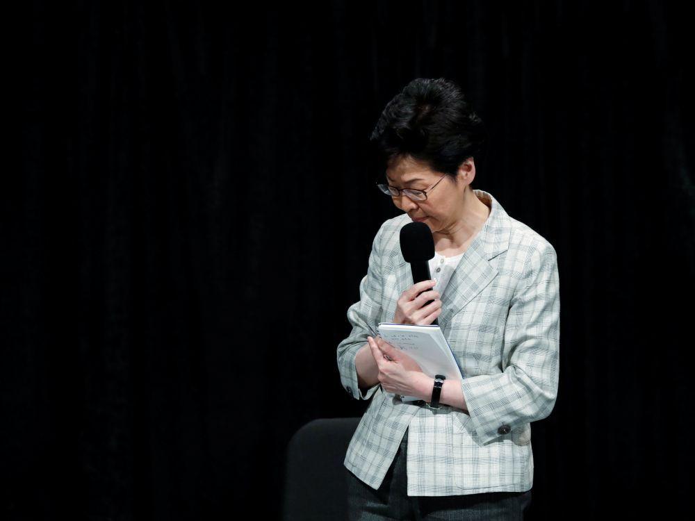 Lam dit qu'elle ne tolérera plus les actes de vandalisme à Hong Kong