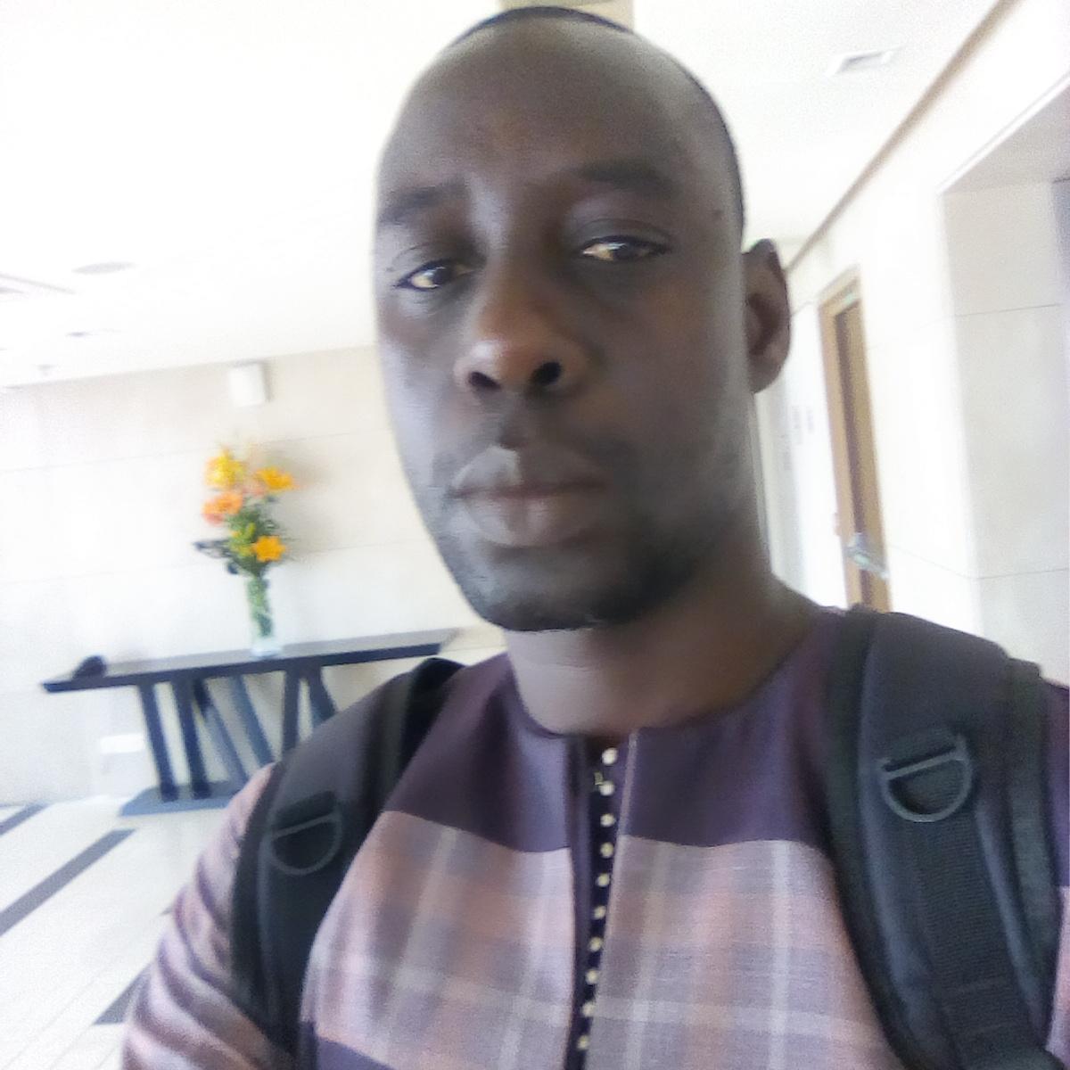 Serigne Sarr, membre de la société civile sénégalaise opposée à la tenue du Forum mondial de l'Eau à Dakar