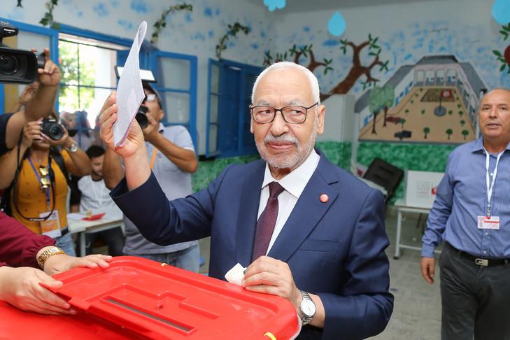 Rached Ghannouchi, chef de la mouvance Ennahda