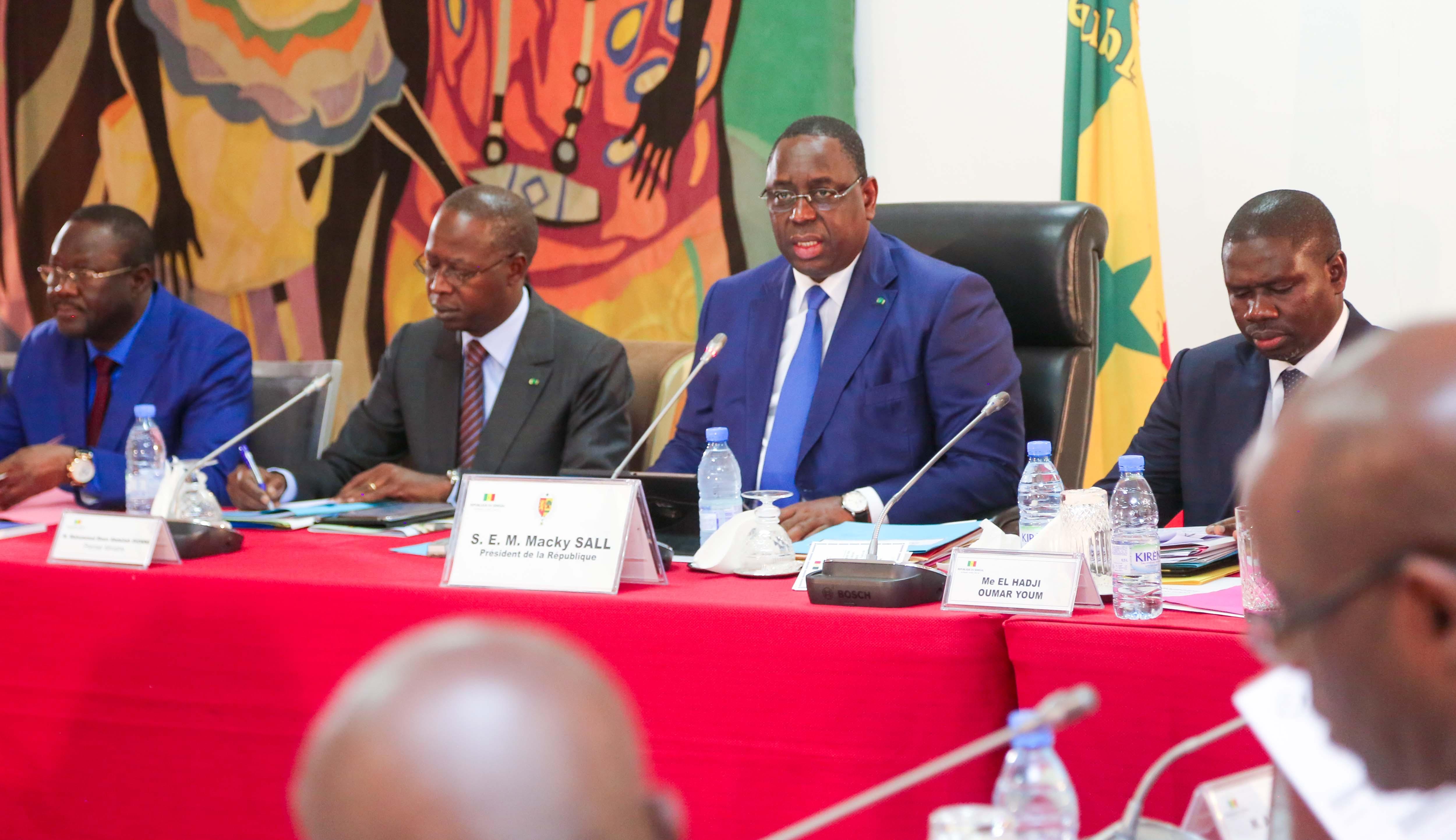 Conseil des ministres du 6 novembre 2019 : Le communiqué