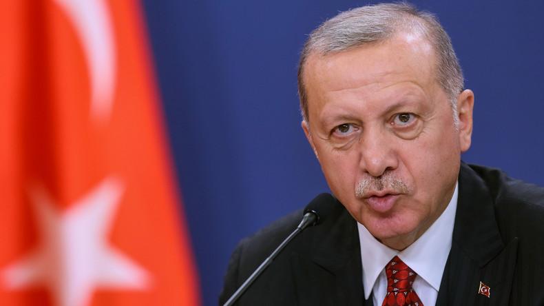 Erdogan reproche aux USA de ne pas tenir leurs engagements dans le nord-est syrien