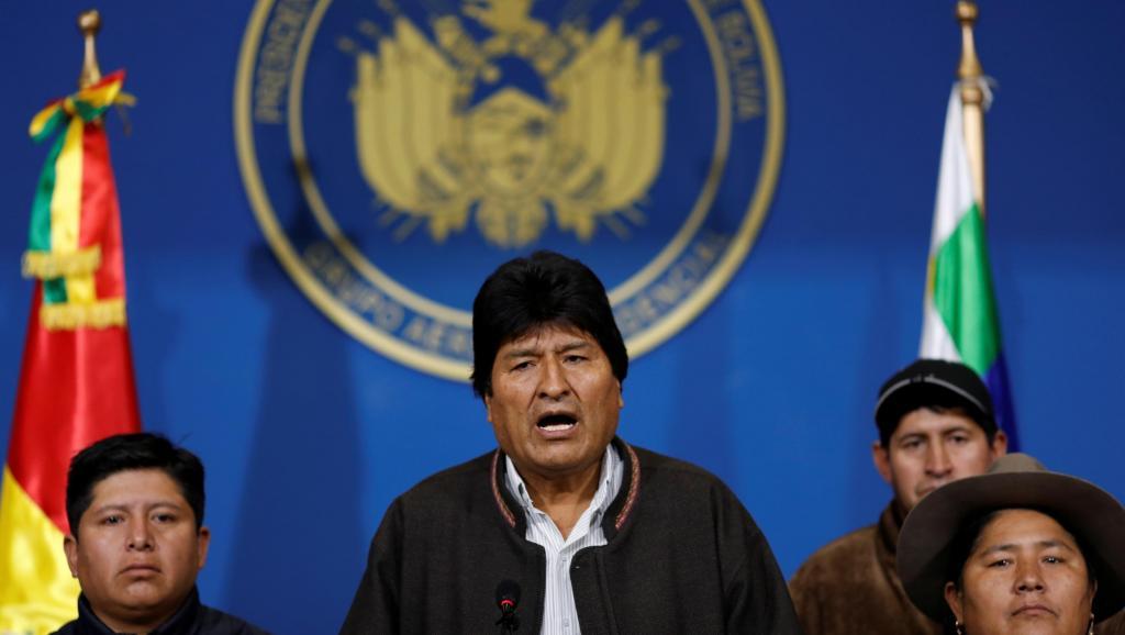 L'ex président bolivien Evo Morales