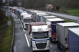 Blocages des transporteurs routiers contre la fiscalité gazole