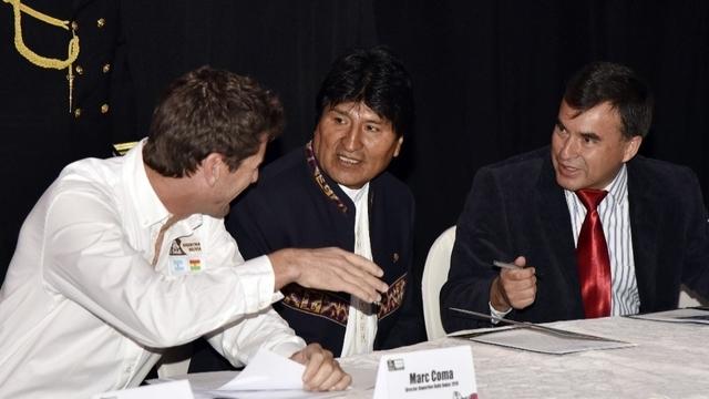 Evo Morales se rend en voyage à Cuba
