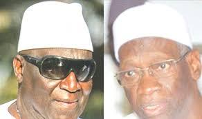 Famara Ibrahima Sagna (g.) et Mamadou Niang