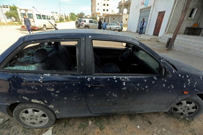 Affrontements vers Tripoli malgré le vote de l'ONU