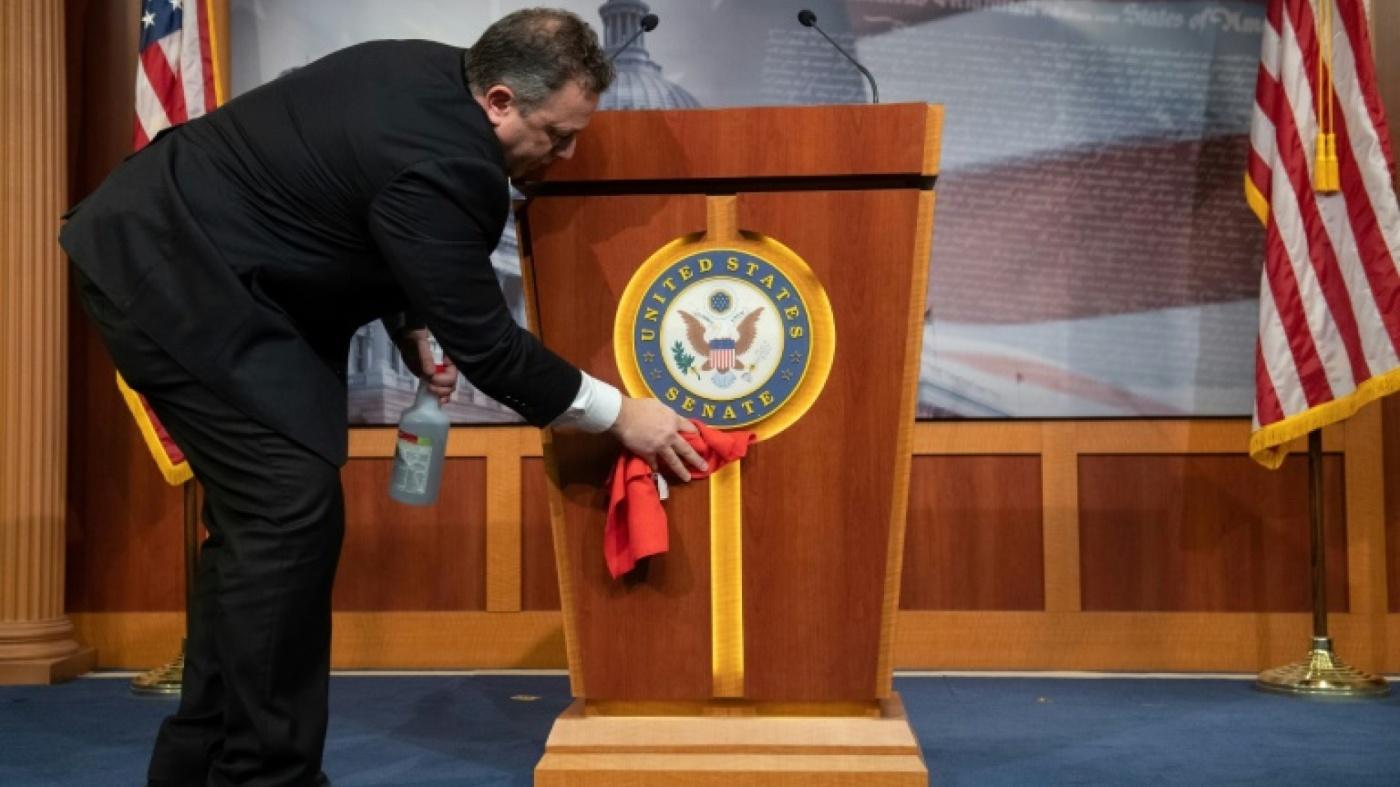 Coronavirus: le plan de relance américain devant le Sénat, New York s'attend au pire