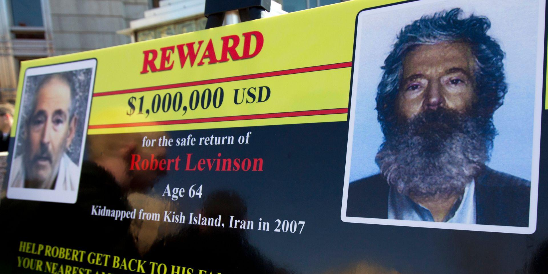 Iran: l'ex-agent américain du FBI Robert Levinson est mort en détention (famille)