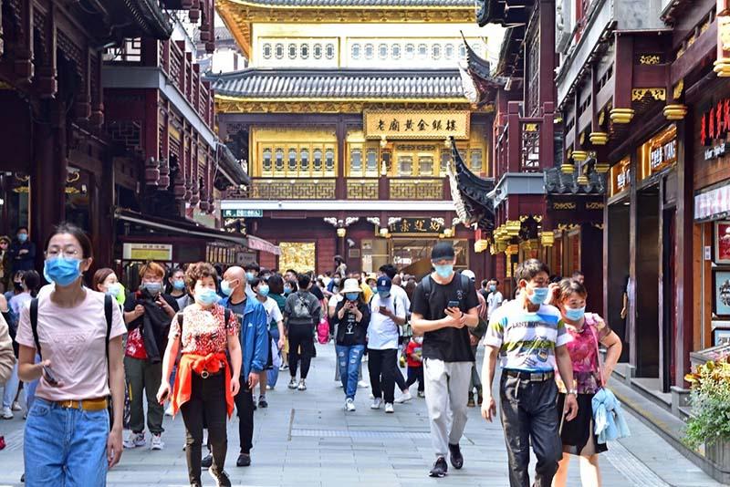« Le marché chinois s'est rétabli pendant les congés de la Fête du travail »