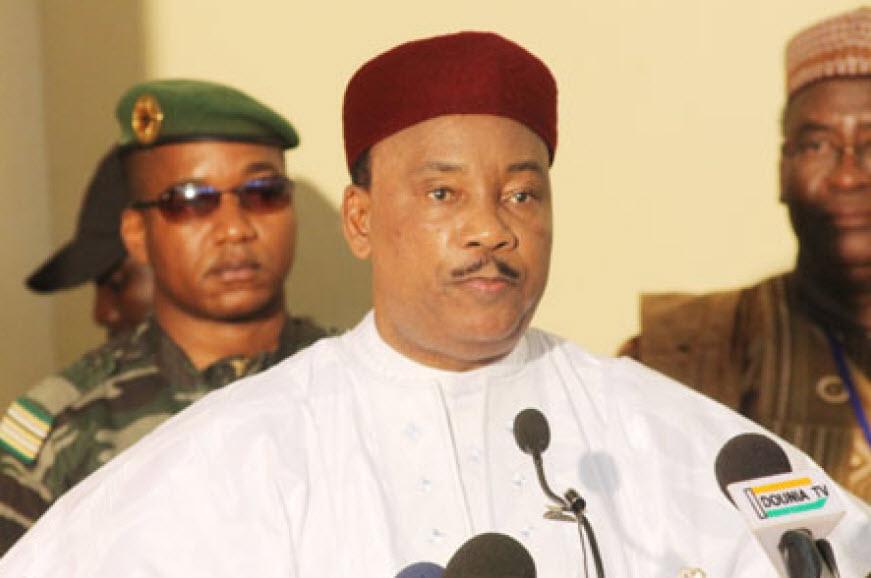 Mahamadou Issoufou, le chef de l'Etat nigérien