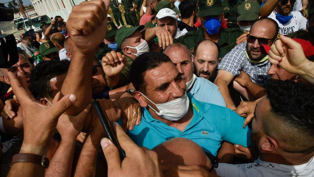 ALGERIE : Quatre figures de la contestation libérées