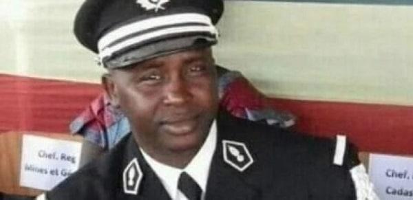 Le défunt commandant Tamsir Sané