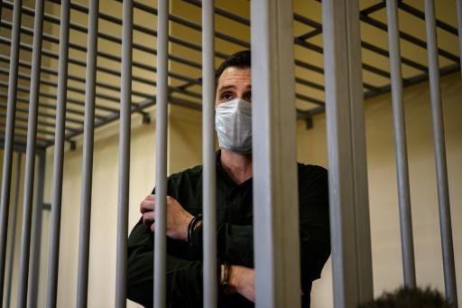 Russie : un Américain s'en prend à des policiers: neuf ans de prison