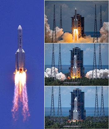 Chine : « Toujours plus loin dans l'espace » (Le Quotidien du Peuple)
