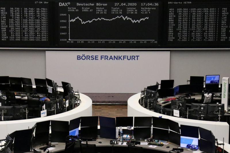 Les espoirs pour l'économie font briller les actions en Europe