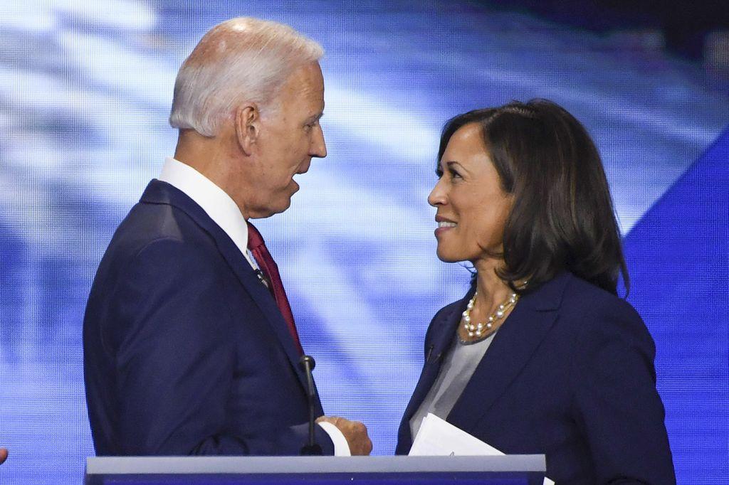 Premier discours attendu du tandem Biden-Harris