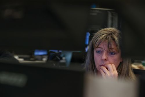 Les craintes pour l'économie font plonger les actions en Europe